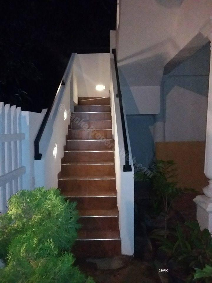 Staircase Night View  - Houe for Rent in Negambo