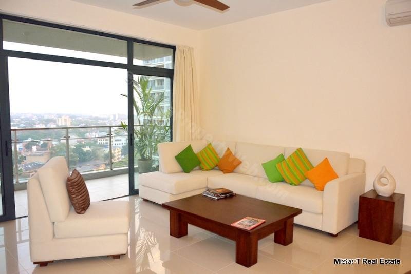 Apartment for rent in Colombo 5 - 2 Bedroom Apartment For Rent In Havelock City