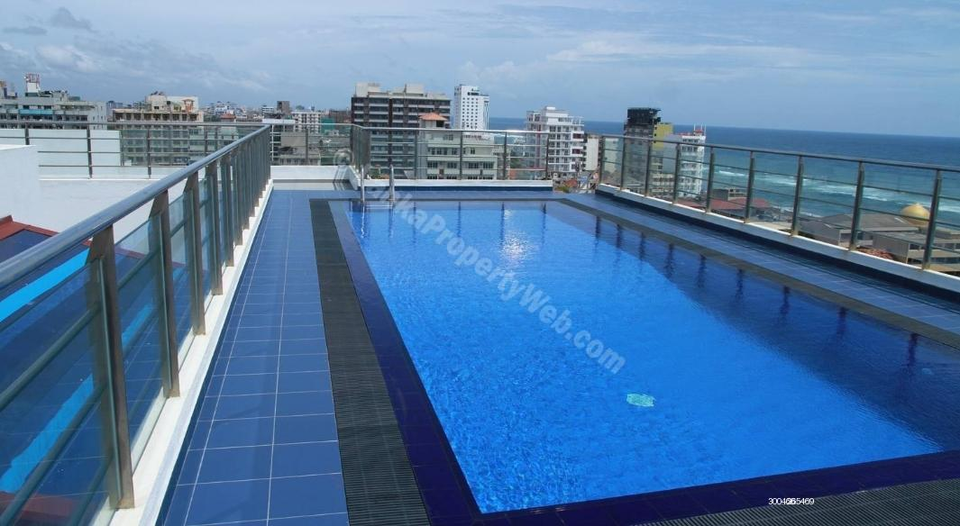 Apartment for rent in Colombo 4 - BLUE OCEAN - RETREAT ROAD | LUXURY - 2 BR | FF - L1 - 925 Sq.Ft | Colombo 04 | Apartment For Rent !