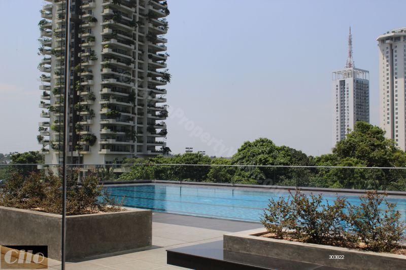 Apartment for rent in Rajagiriya - 3 bedroom fully furnished higher floor luxury apartment in Elements Rajagiriya for Rent