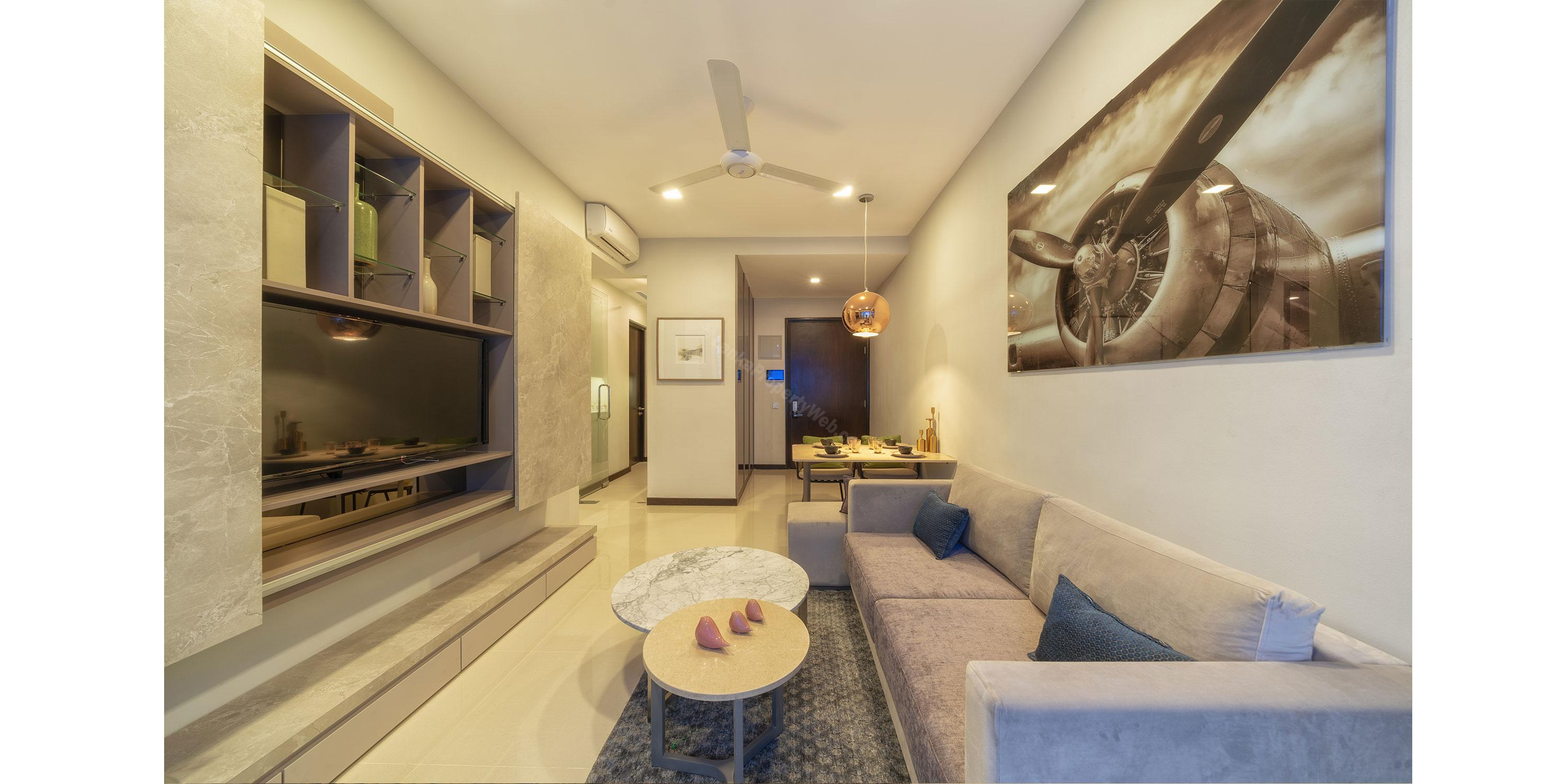 Apartment for sale in Colombo 2 - TRI-ZEN 1 BR Apartment  By John Keells Properties