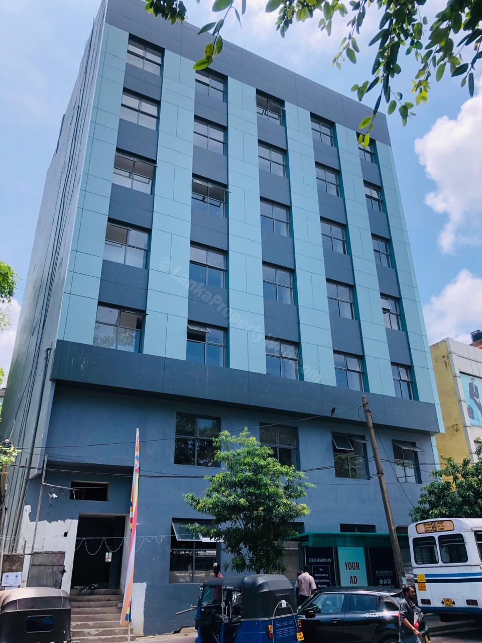 Commercial building for sale in Colombo 7 - Brand New 31,500ft2 Commercial Building facing Ward Place, Maradana Road and Borella Junction