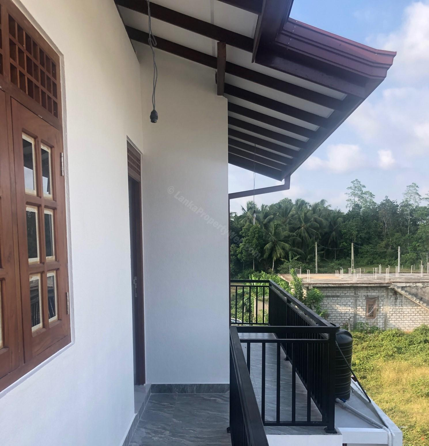 Balcony - Two Story luxury House for Sale - Homagama