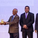 LANKA PROPERTY WEB CROWNED WINNER OF 'BEST WEBSITE' AT THE SLT ZERO ONE AWARDS
