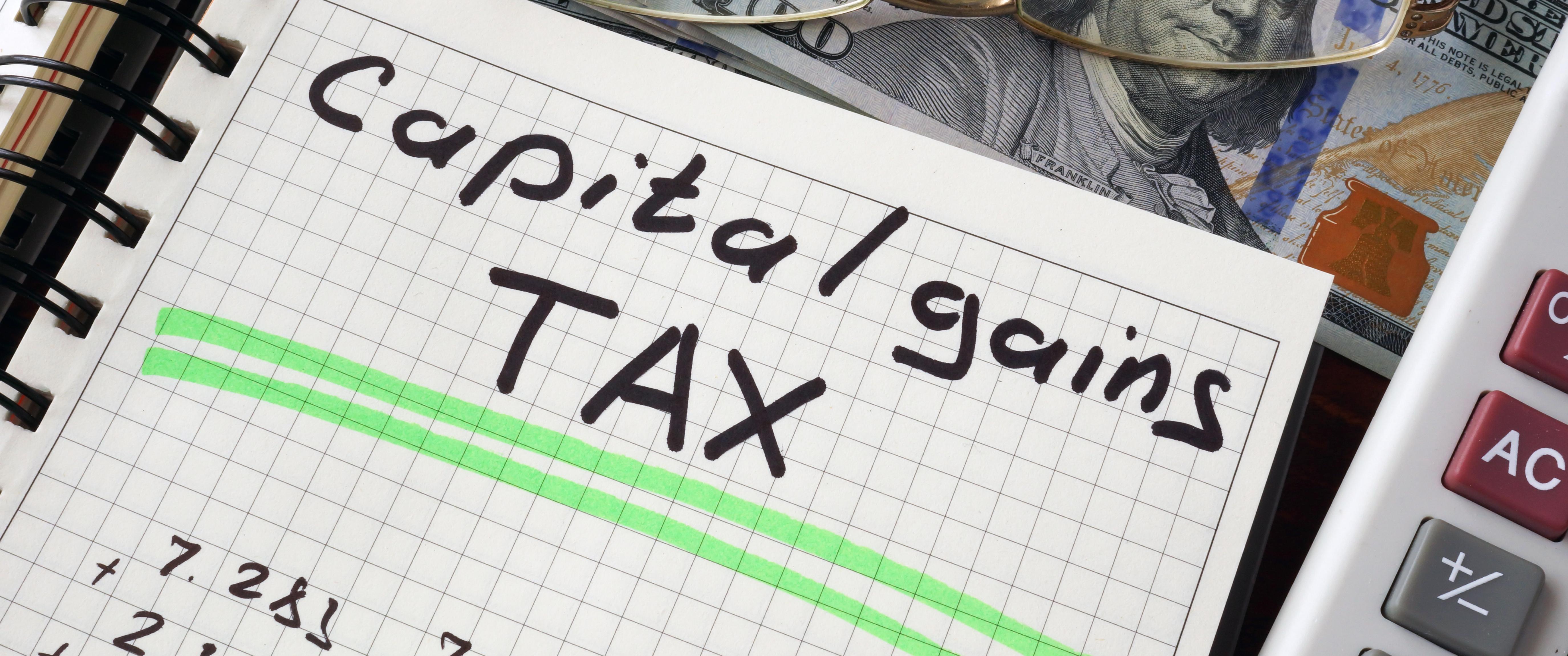 2018 Capital Gains Tax Rates