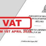 15% VAT on Apartment sales to come in to affect from 1st April 2019